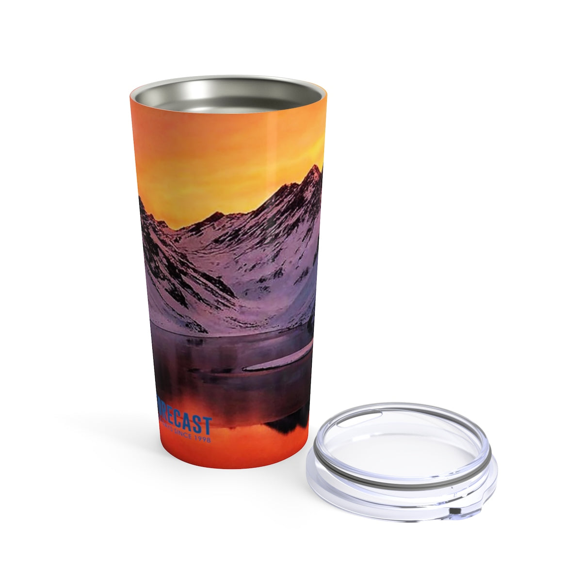 The Mountains Are Calling And I Must Go Travel Mug 20oz
