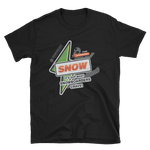 "Basic ""It's Got What Snowboarders Crave"" Front Color Print T-Shirt"