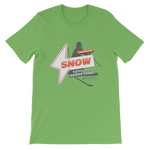 """It's Got What Skiers Crave"" Front Plain Print T-Shirt"