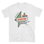 "Basic ""It's Got What Skiers Crave"" Front Color Print T-Shirt"