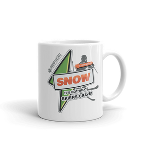 """It's Got What Skiers Crave"" Color Mug"