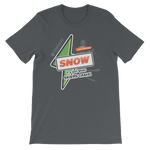 """It's Got What Skiers Crave"" Front Color Print T-Shirt"