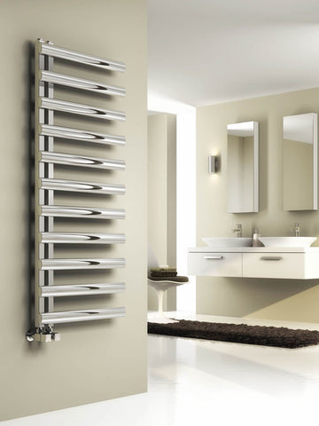 Reina Cavo Polished or Brushed Stainless Steel Designer Radiators | Towel Radiator