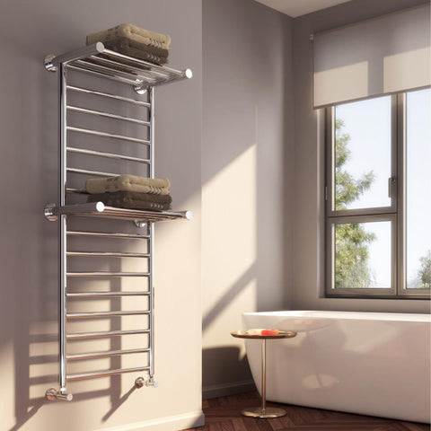 Reina Adena Stainless Steel Designer Radiators | 1300mm X 532mm Towel Radiator