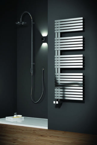 Reina Entice Brushed Stainless Steel Designer Radiators | Towel Radiator