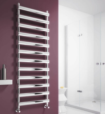 Reina Deno Polished or Brushed Stainless Steel Designer Radiators | Towel Radiator