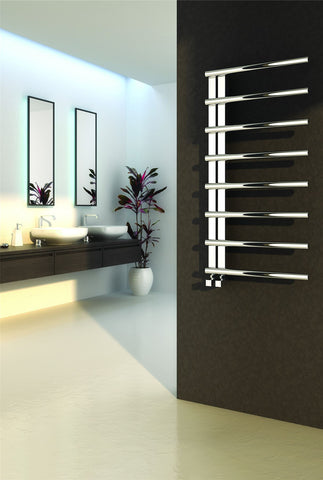 Reina Celico Polished Stainless Steel Designer Radiators | Towel Radiator