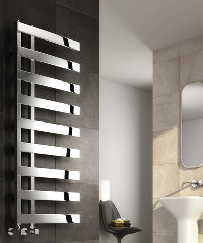 Reina Capelli Polished Stainless Steel Designer Radiator | Towel Radiators