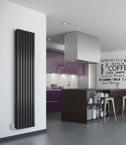 Puro Vertical Designer Radiator - Single or Double