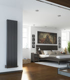 Sidato Moda Designer Radiator - Anthracite, Black Gloss, White