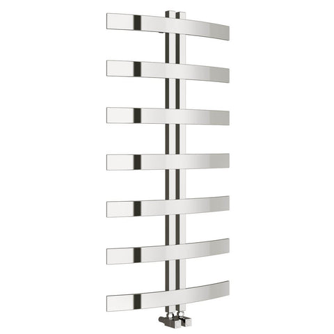 Reina Riesi Polished Stainless Steel Designer Radiators | 1200mm X 600mm Towel Radiator