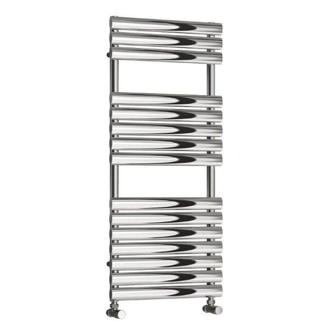Reina Helin Stainless Steel Designer Radiators | Polished Towel Radiator