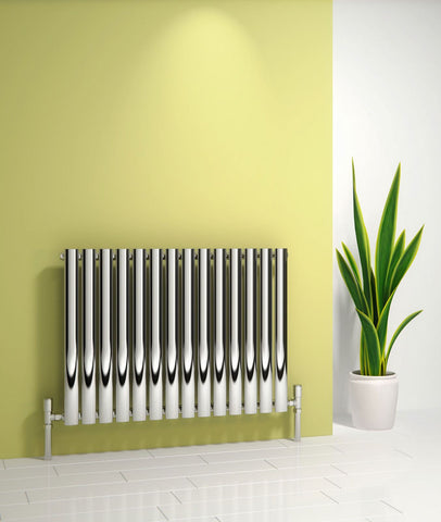 Reina Nerox Polished Stainless Steel Designer Radiators | Horizontal Radiator