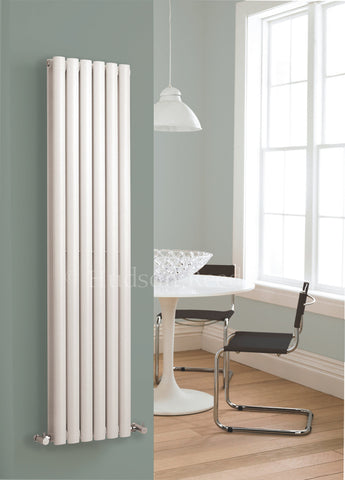 Hudson Reed Revive White Designer Radiator | Single or Double | Tall