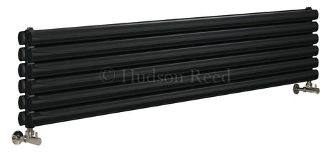 Hudson Reed Revive Black Designer Radiator