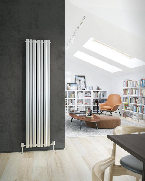 Sidato Lusso Stainless Steel Designer Radiator | Vertical Radiators