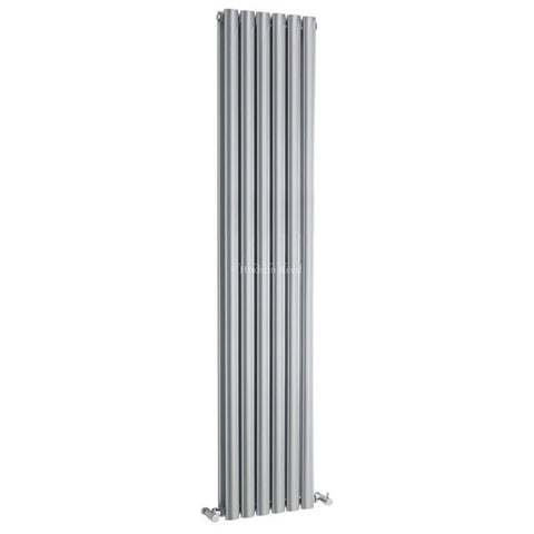 Hudson Reed Revive High Gloss Silver Designer Radiator