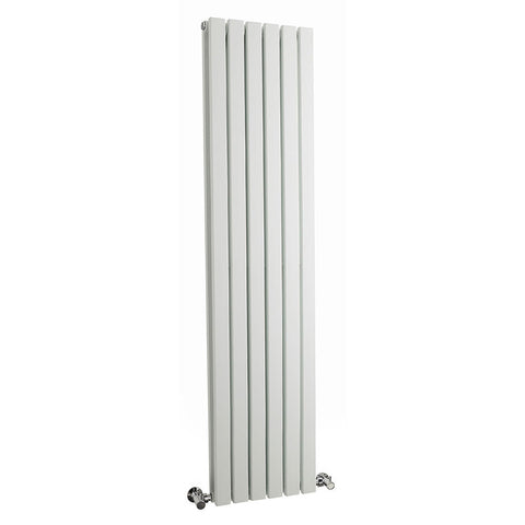 Hudson Reed Sloane White Designer Radiator | Vertical | New