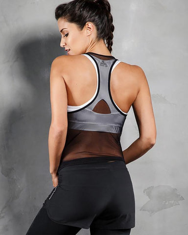 2 Fast 2 Furious Two Piece Mesh Running Set