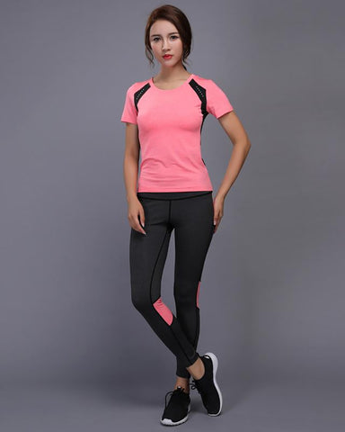 Night Reflective Quick Dry Two Piece Jogging Set
