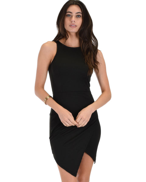 Lyss Loo Rock & Ready Black Bodycon Dress - Clothing Showroom