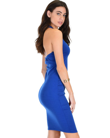 Lyss Loo Essential Spice Royal Bodycon Dress - Clothing Showroom