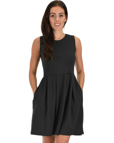 I'm Smitten Skater Dress With Pockets