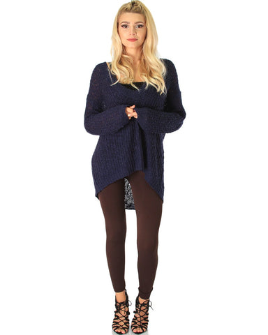 LL548 Comfy and Cozy Brown Winter Fleece Leggings 6 - Clothing Showroom
