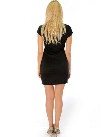 Lyss Loo Show Off Black Bodycon Dress - Clothing Showroom