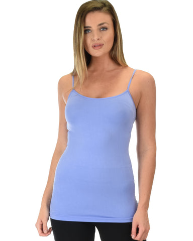 602 Super Duper Stretch Lavender Camisole Tank Top