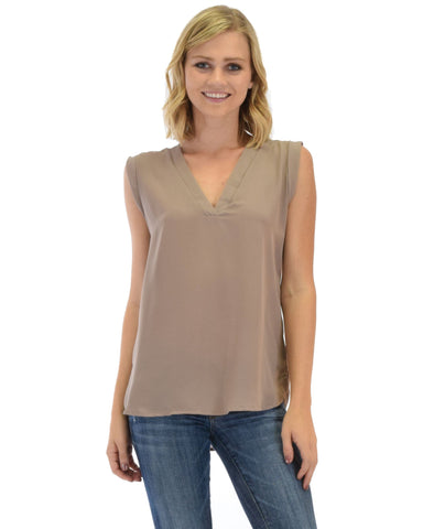 Queen of Hearts Deep V-Neck Sheer Blouse Top