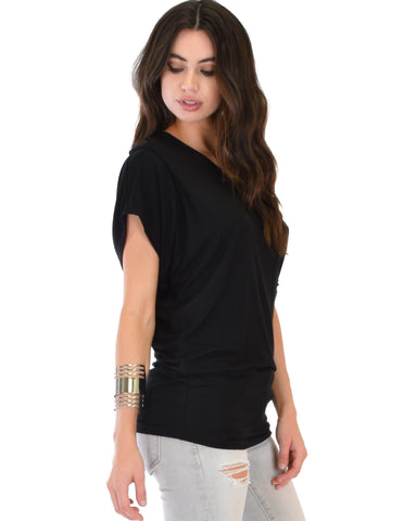 Contemporary Dolman Tunic Top