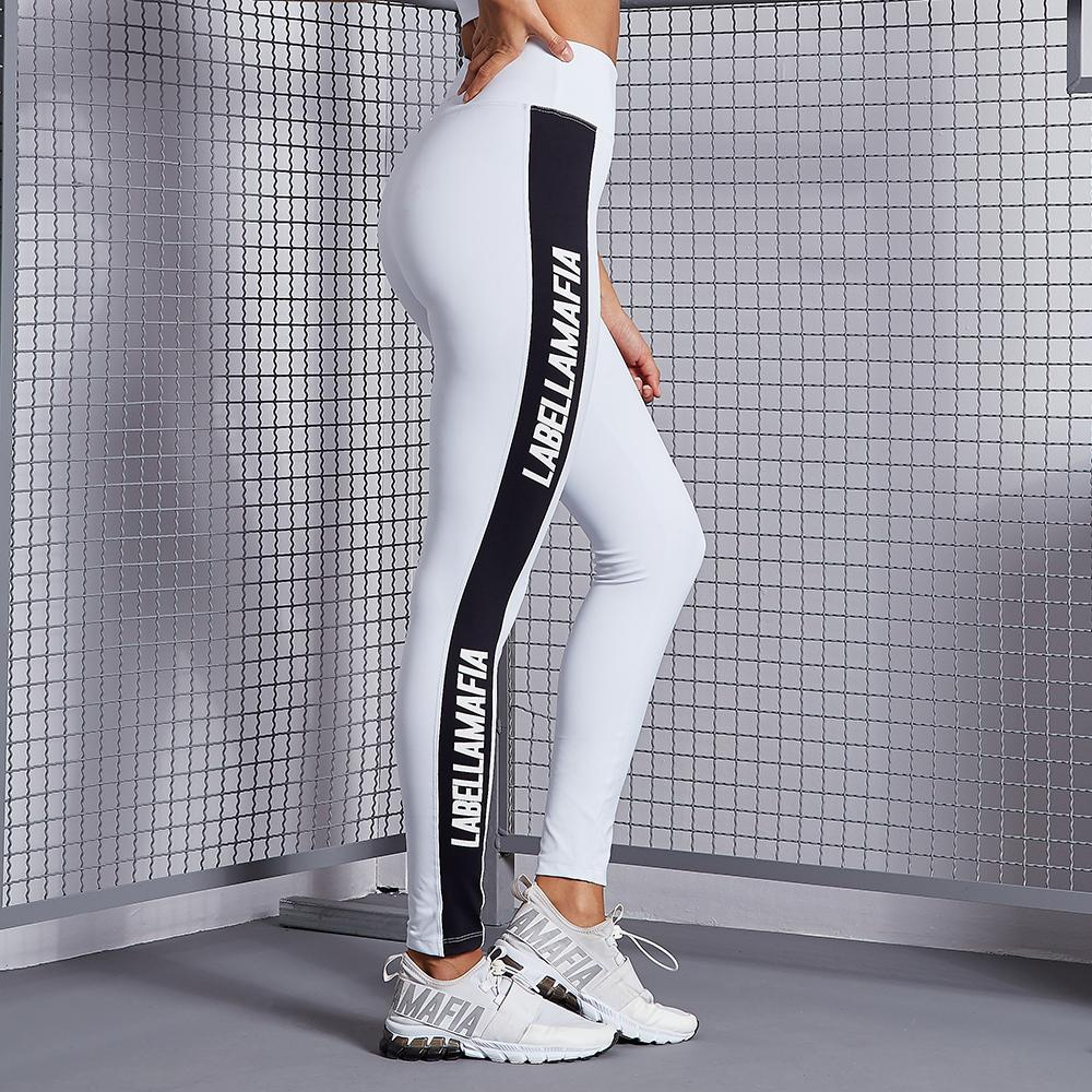 Leggings White FCL17306 - Labellamafia Shop - Fitness is Everywhere