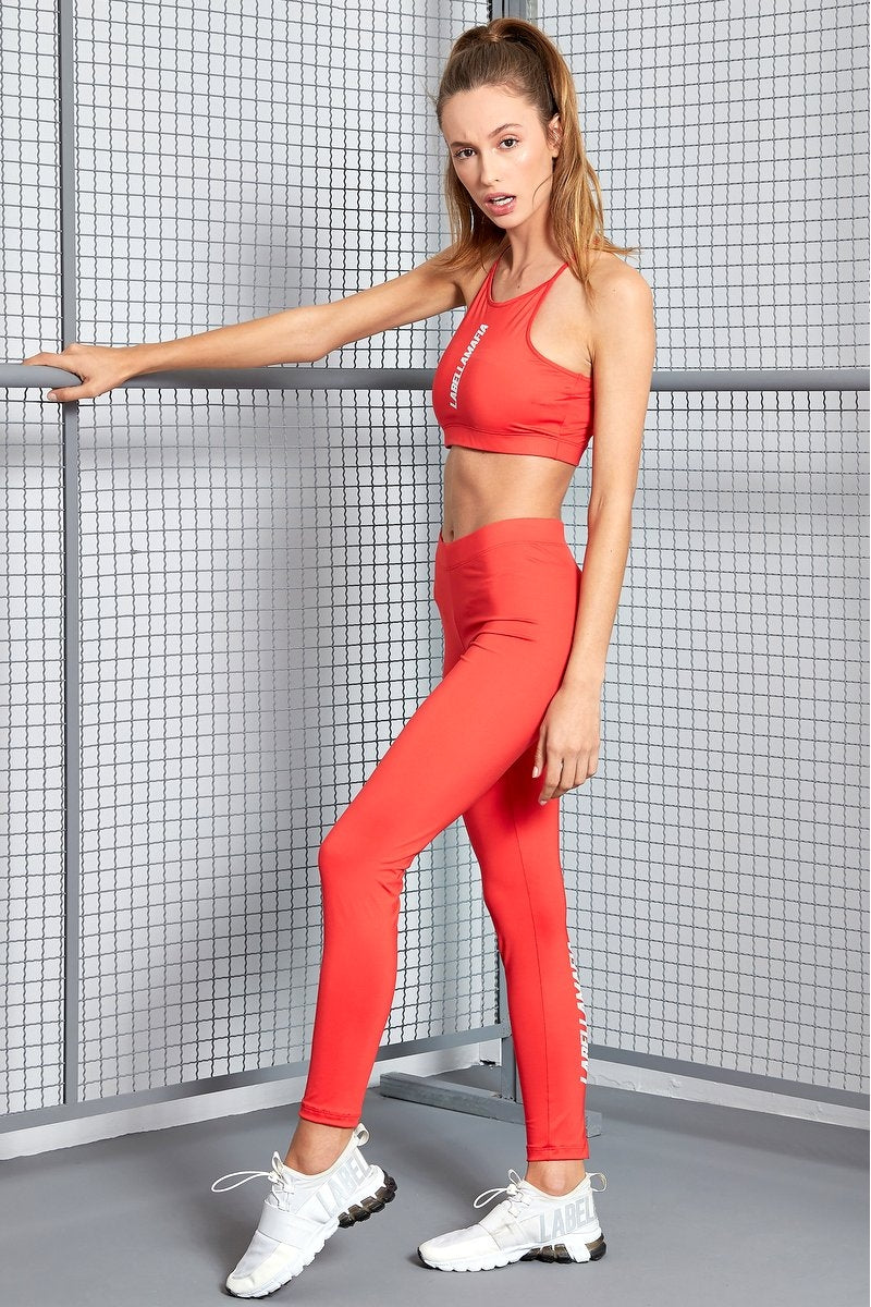 Fitness Set Essentials Red FCJ17310 - Labellamafia Shop - Fitness is Everywhere