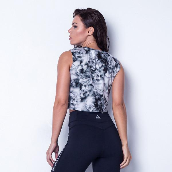 Crop Top LABELLAMAFIA FBL11195 - Labellamafia Shop - Fitness is Everywhere