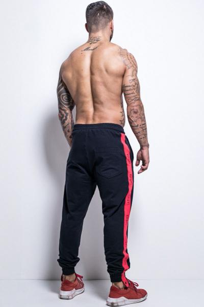 "Pants ""Black and Red"" LaMafia HCL12635 - Labellamafia Shop - Fitness is Everywhere"