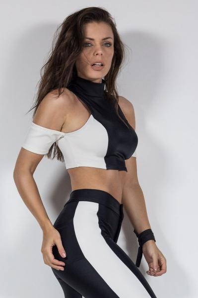 Crop top LABELLAMAFIA MBL10029 - Labellamafia Shop - Fitness is Everywhere