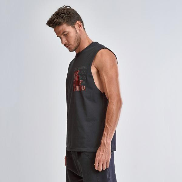 "Men's shirt LAMAFIA ""Tank top"" HCS12833 - Labellamafia Shop - Fitness is Everywhere"