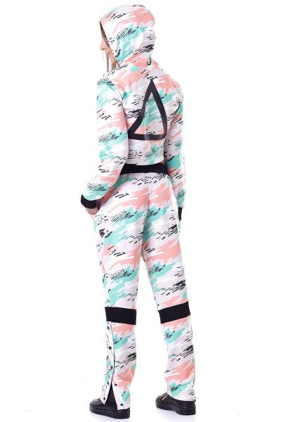Pants Labellamafia Mint Camo MCL16176 - Labellamafia Shop - Fitness is Everywhere