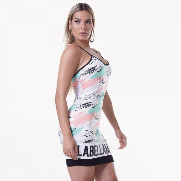 Dress Labellamafia Mint Camo MVT16191 - Labellamafia Shop - Fitness is Everywhere