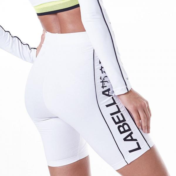 Shorts Labellamafia Neon White MSH16168 - Labellamafia Shop - Fitness is Everywhere