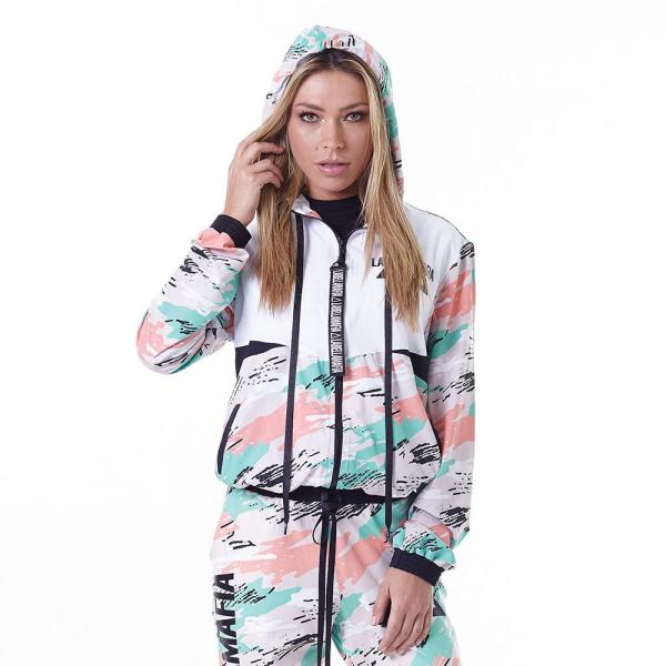Jacket Labellamafia Mint Camo MJQ16193 - Labellamafia Shop - Fitness is Everywhere