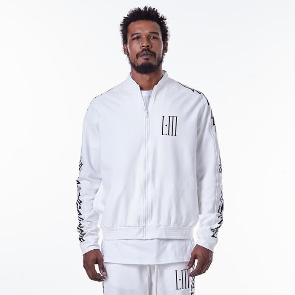 Jacket La Mafia Gears White HJQ15379 - Labellamafia Shop - Fitness is Everywhere