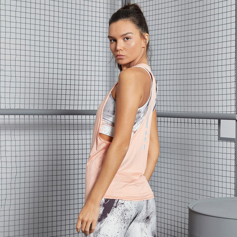 Tank Top Running Pink FBL17205 - Labellamafia Shop - Fitness is Everywhere