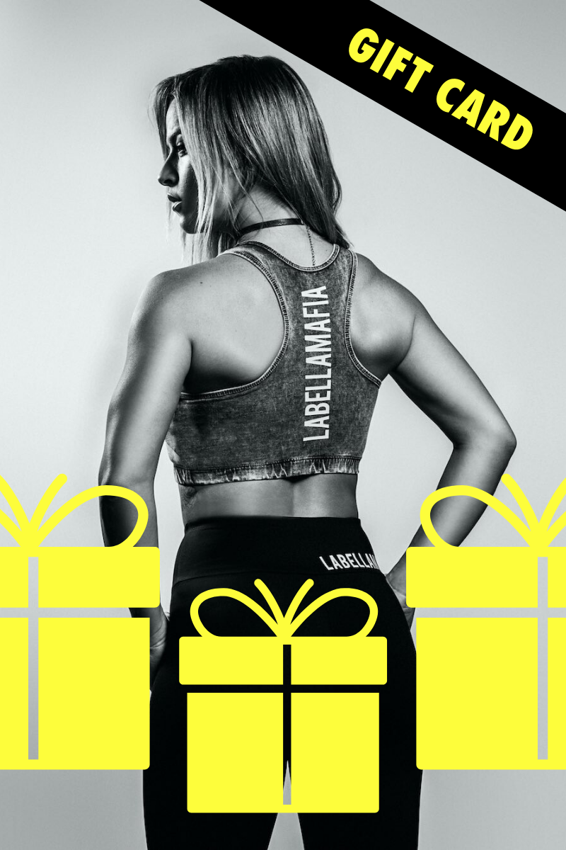 Labellamafia Shop Gift Card - Labellamafia Shop - Fitness is Everywhere