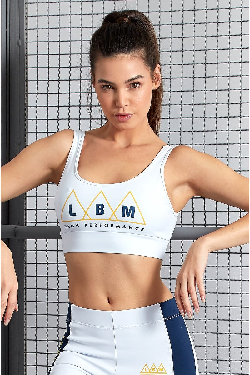 Top White Emana FTP17223 - Labellamafia Shop - Fitness is Everywhere