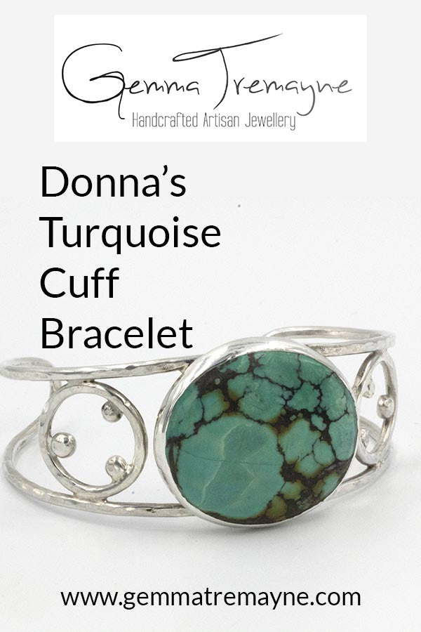 Donna's Turquoise Cuff Bracelet