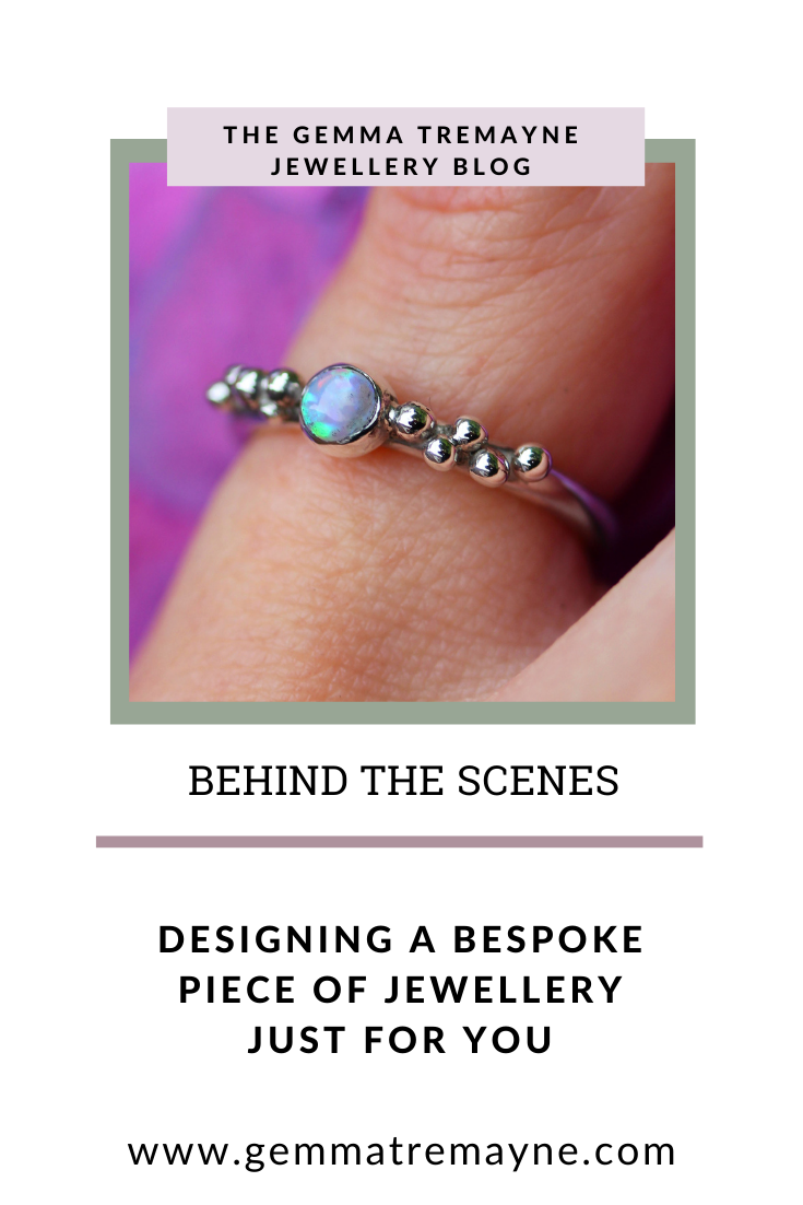 Designing a Bespoke Piece of Jewellery Just For You