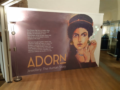 Adorn exhibition at colchester castle
