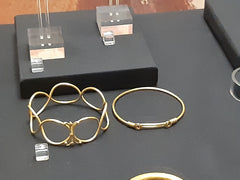 Pair of Roman Gold bracelets, found on the Fenwicks site in Colchester, Essex